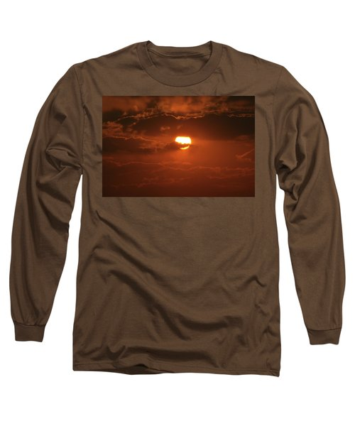 Sunset Long Sleeve T-Shirt by Linda Ferreira