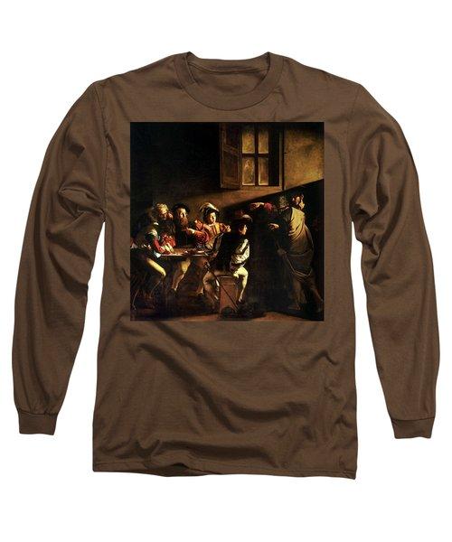 The Calling Of St. Matthew Long Sleeve T-Shirt