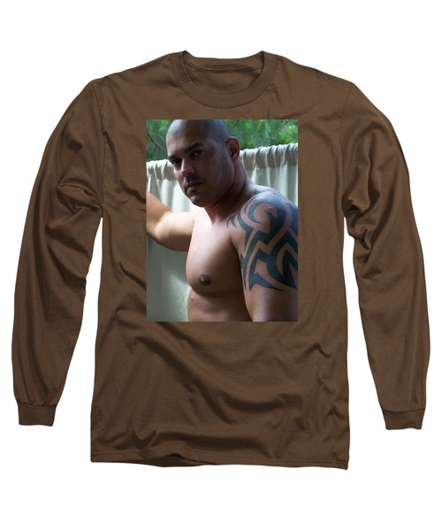 Long Sleeve T-Shirt featuring the photograph The Fighter by Jake Hartz