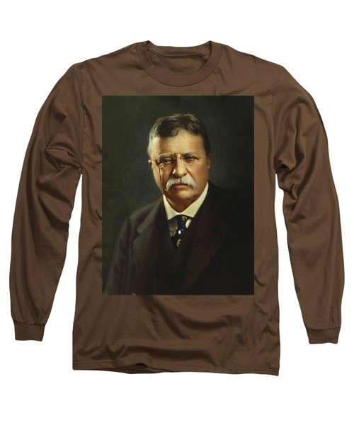 Theodore Roosevelt - President Of The United States Long Sleeve T-Shirt by International  Images