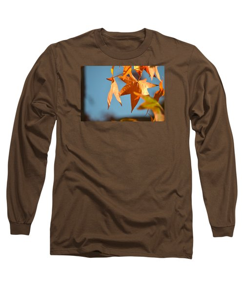 Long Sleeve T-Shirt featuring the photograph  It Feels Like Fall by Alex King
