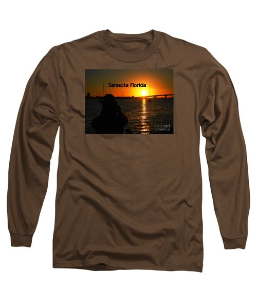 Long Sleeve T-Shirt featuring the photograph Tropical Sunset by Gary Wonning