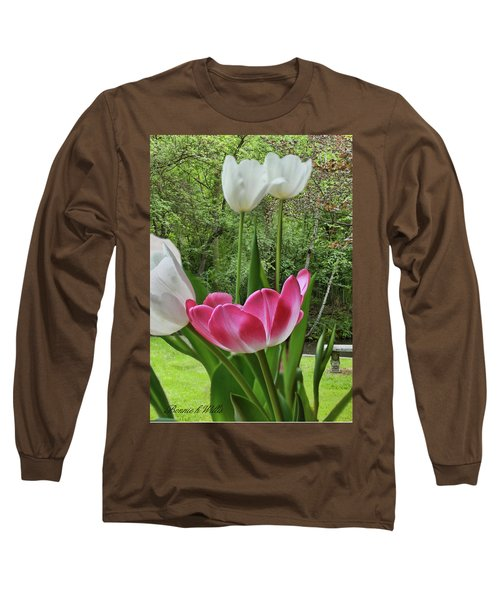 Long Sleeve T-Shirt featuring the photograph Tulips by Bonnie Willis