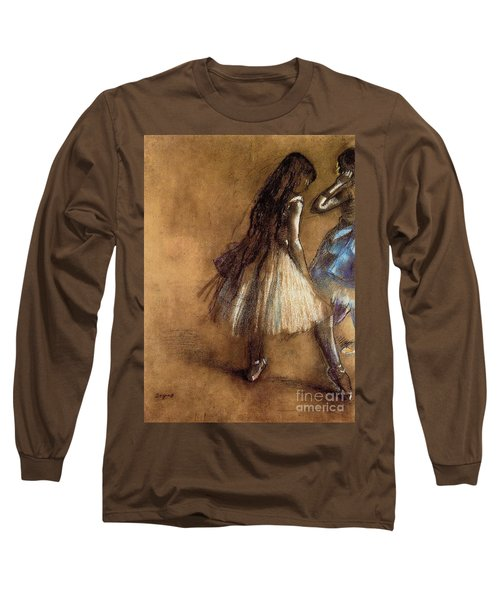 Two Dancers Long Sleeve T-Shirt
