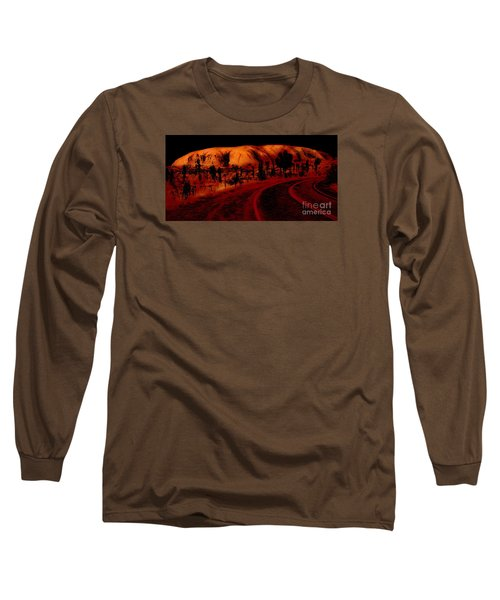Uluru Sunrise Long Sleeve T-Shirt