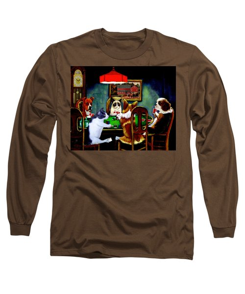 Under The Table Long Sleeve T-Shirt