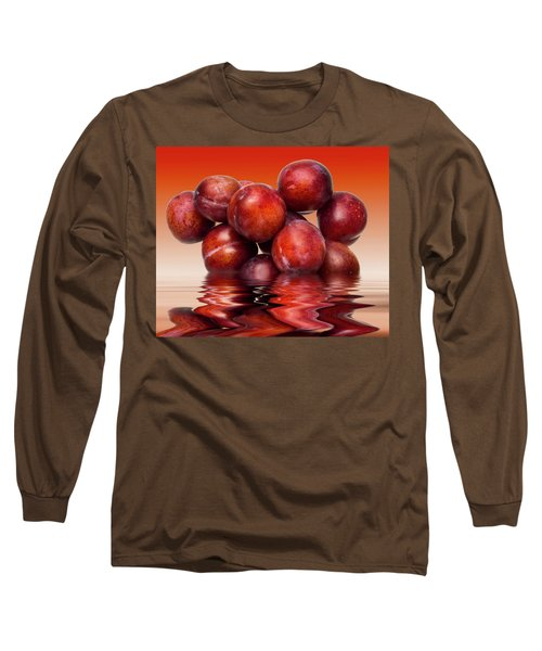 Victoria Plums Long Sleeve T-Shirt