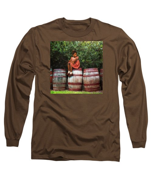Long Sleeve T-Shirt featuring the photograph Waiting For Father 3 by Timothy Bulone