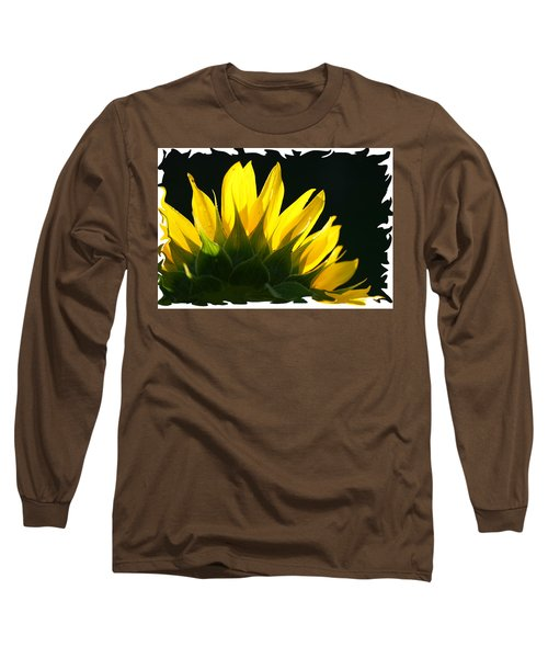 Wild Sunflower Long Sleeve T-Shirt by Shari Jardina