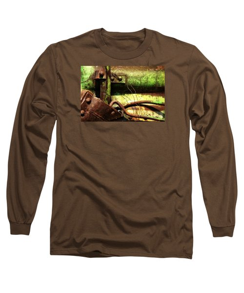 Wired Long Sleeve T-Shirt by Newel Hunter