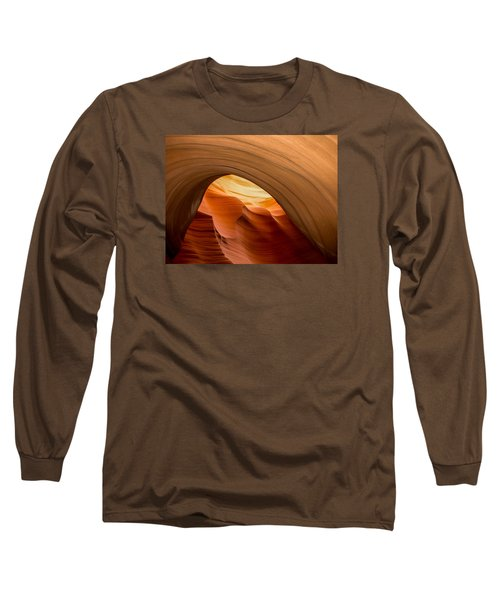 Lower Antelope Canyon Navajo Tribal Park #12 Long Sleeve T-Shirt