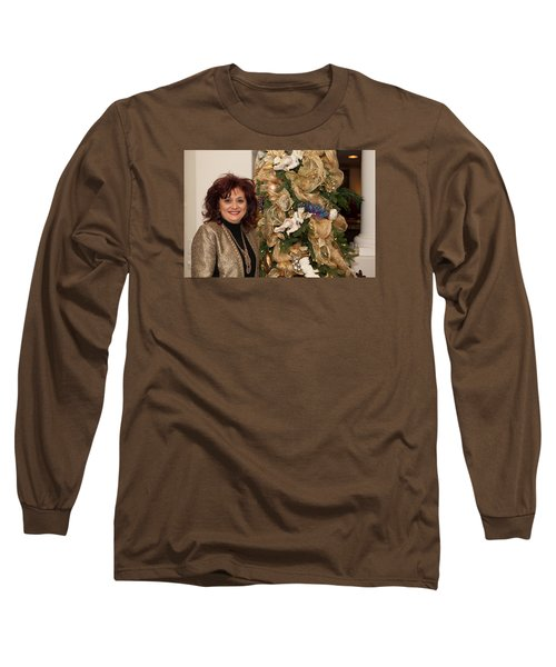 Christmasparty Long Sleeve T-Shirt by Dennis Eckel