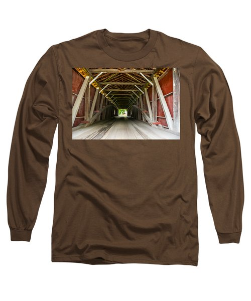143 Feet Of Covered Bridge Long Sleeve T-Shirt