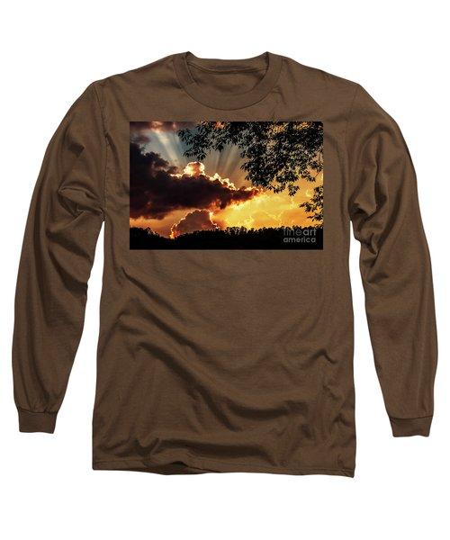 Long Sleeve T-Shirt featuring the photograph Appalachian Sunset by Thomas R Fletcher