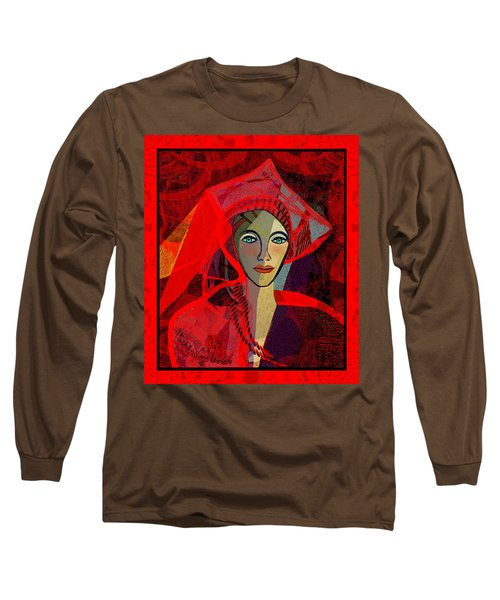 1791 - Lady In Red 2017 Long Sleeve T-Shirt
