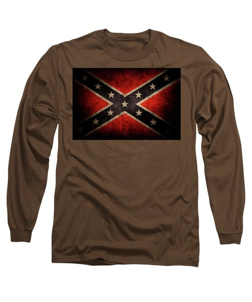 Confederate Flag 7 Long Sleeve T-Shirt