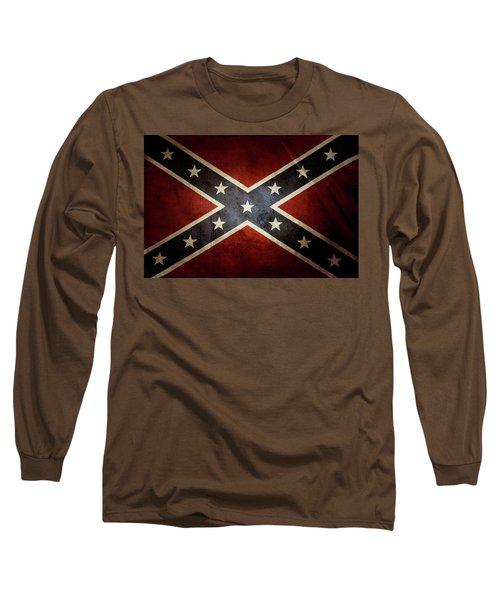 Confederate Flag 12 Long Sleeve T-Shirt
