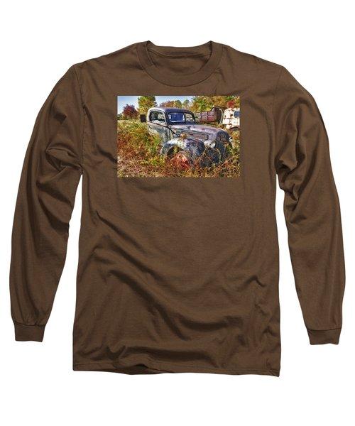 1941 Ford Truck Long Sleeve T-Shirt by Mark Allen