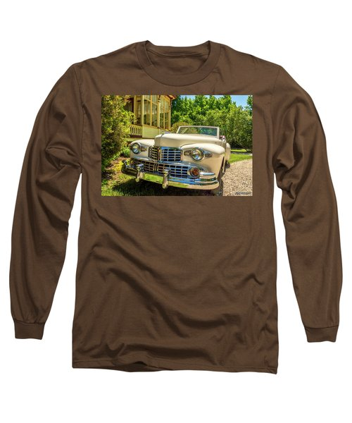 1948 Lincoln Convertible  Long Sleeve T-Shirt by Ken Morris