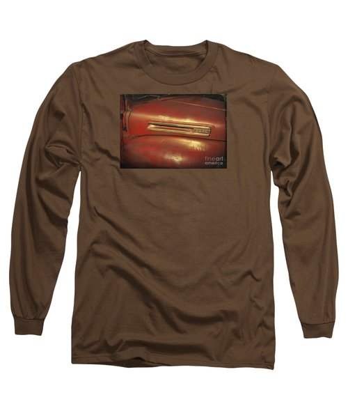 1949 Ford Pickup Truck #4 Long Sleeve T-Shirt by George Robinson