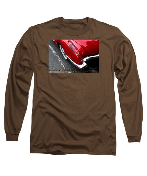 Long Sleeve T-Shirt featuring the photograph 1959 Corvette by M G Whittingham