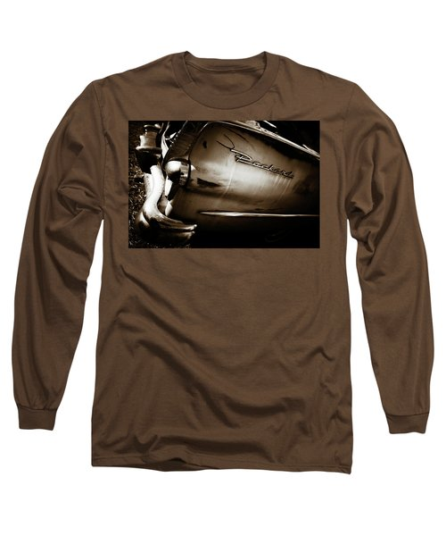 Long Sleeve T-Shirt featuring the photograph 1950s Packard Tail by Marilyn Hunt