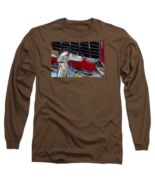 1955 Chevy Coupe Grill Long Sleeve T-Shirt