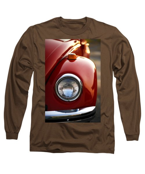 1973 Volkswagen Beetle Long Sleeve T-Shirt by Gordon Dean II