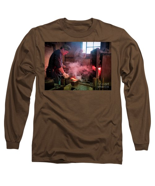 4th Generation Blacksmith, Miki City Japan Long Sleeve T-Shirt