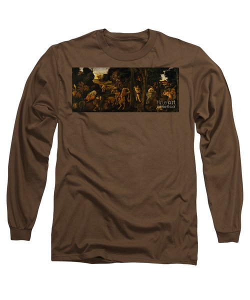 A Hunting Scene Long Sleeve T-Shirt