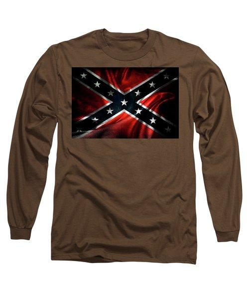 Confederate Flag 19 Long Sleeve T-Shirt