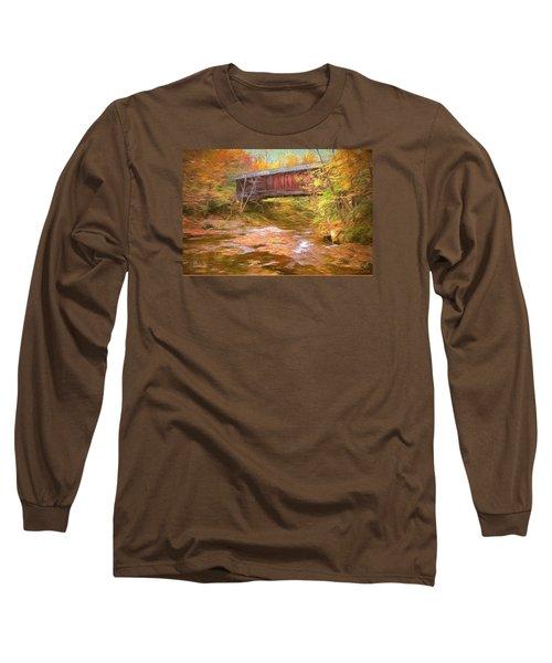 Hutchins Bridge Long Sleeve T-Shirt by John Selmer Sr