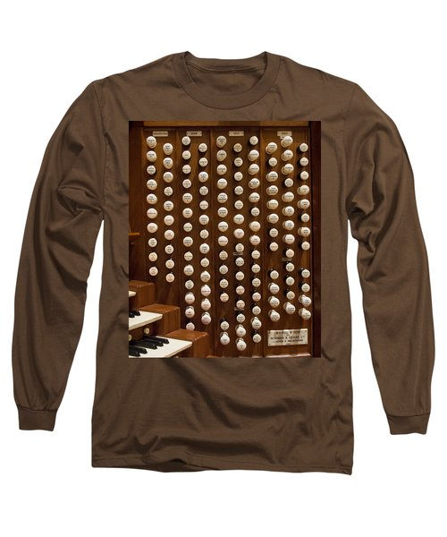 Organ Stops Long Sleeve T-Shirt