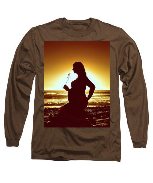 Powell Maternity Long Sleeve T-Shirt