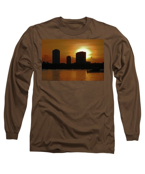 Long Sleeve T-Shirt featuring the photograph 2- Singer Island by Joseph Keane