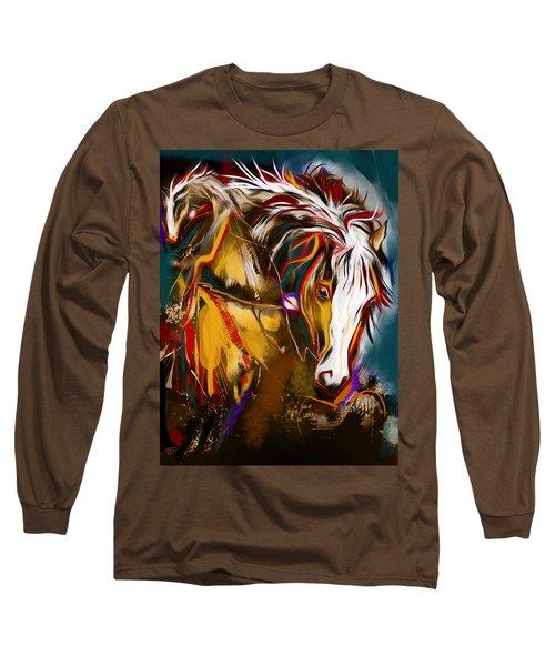 2 Spirit Knights Long Sleeve T-Shirt