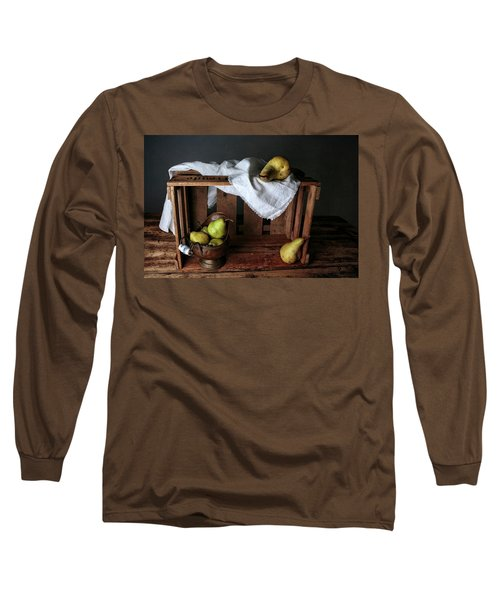 Still-life With Pears Long Sleeve T-Shirt