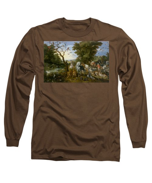 The Entry Of The Animals Into Noah's Ark Long Sleeve T-Shirt