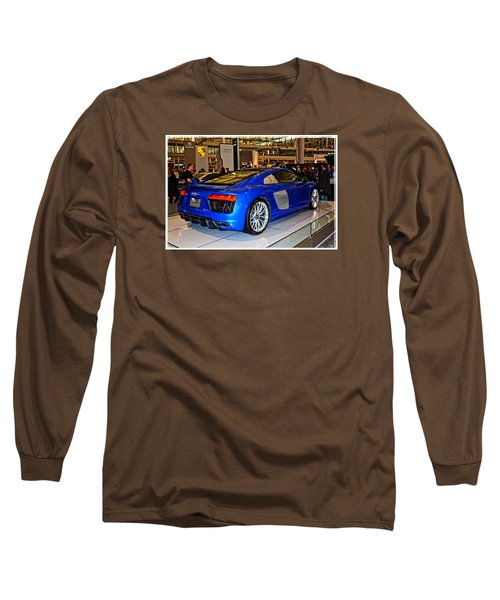 2016 Audi R8 Long Sleeve T-Shirt by Mike Martin