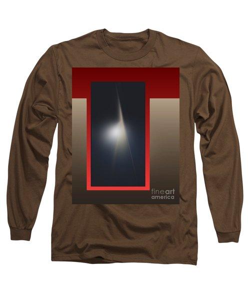 Long Sleeve T-Shirt featuring the digital art 2053-2 2017 by John Krakora
