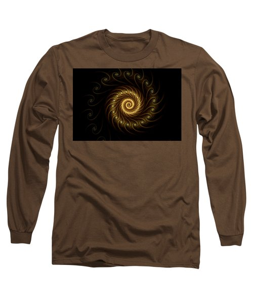 24 Karat Long Sleeve T-Shirt by Lea Wiggins