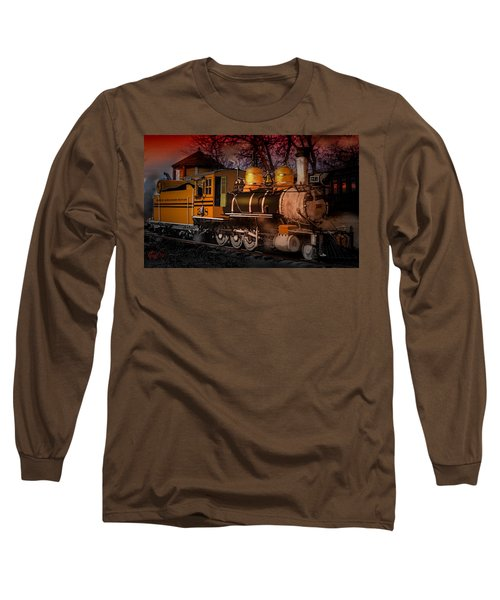 #268 Is Simmering Long Sleeve T-Shirt by J Griff Griffin