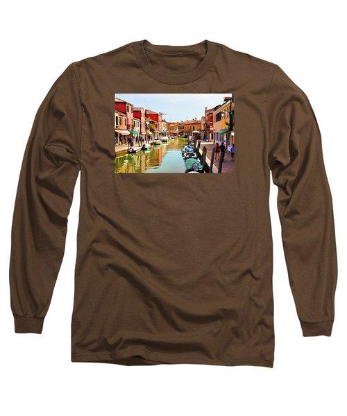 Venice - Untitled Long Sleeve T-Shirt by Brian Davis