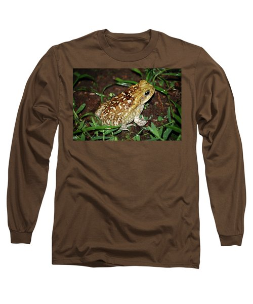 Cane Toad Long Sleeve T-Shirt by Breck Bartholomew