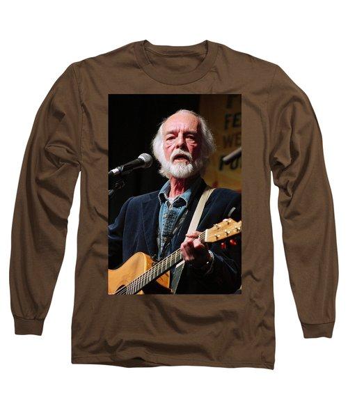 Long Sleeve T-Shirt featuring the photograph Folk Alliance 2014 by Jim Mathis