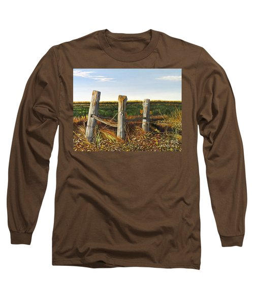 3 Old Posts Long Sleeve T-Shirt