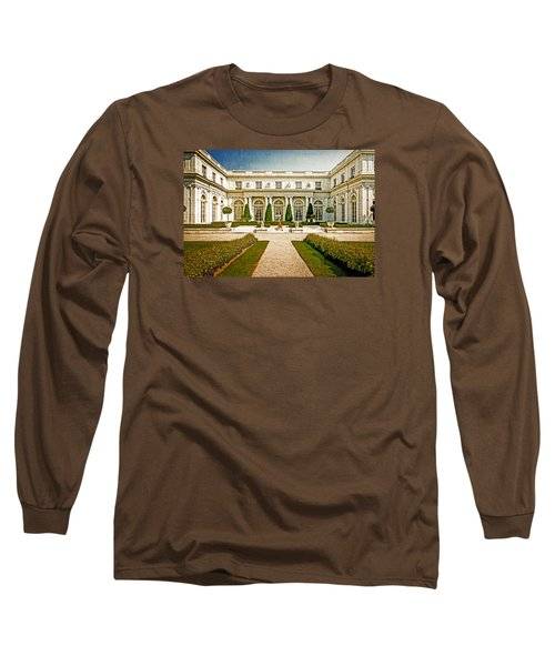 Long Sleeve T-Shirt featuring the photograph The Rosecliff by Sabine Edrissi