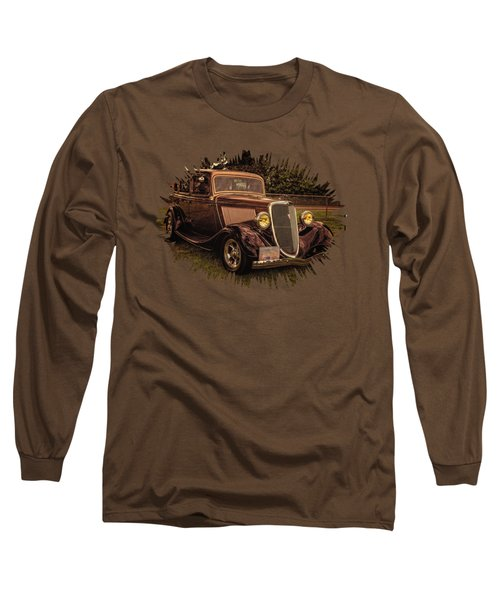 Cool 34 Ford Four Door Sedan Long Sleeve T-Shirt