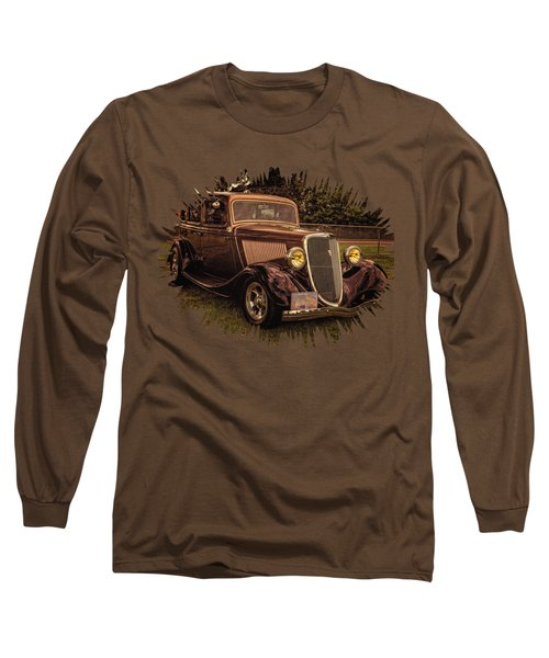 Cool 34 Ford Four Door Sedan Long Sleeve T-Shirt