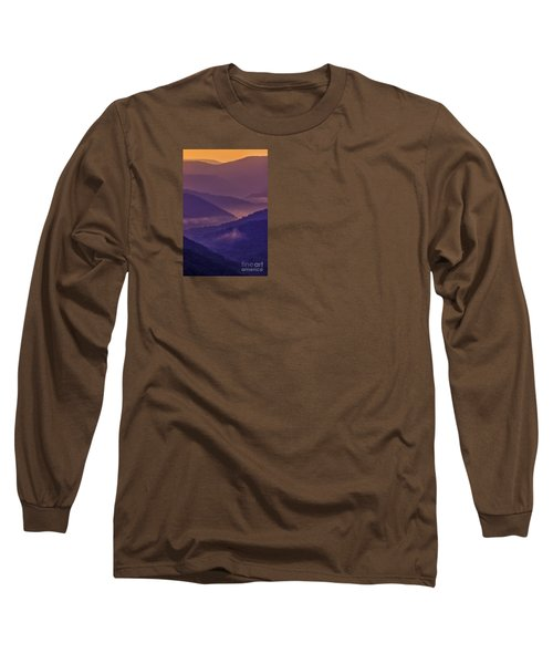Allegheny Mountain Sunrise Long Sleeve T-Shirt by Thomas R Fletcher